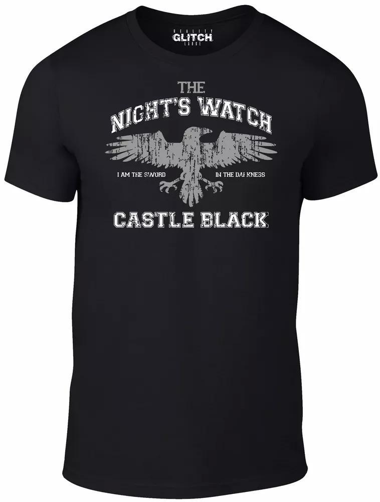Camiseta de Cuervo de la noche - Jon Snow juego de Crow Thrones TV Regalo de invierno HBO Film