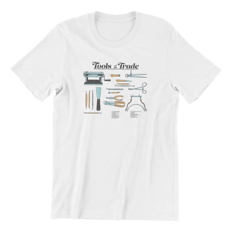 Camiseta para hombres CNotbusch Herramientas de la vendimia del comercio 18x16 Mousepad Parejas coincidentes Unisex Muerte Note Mens Ropa 90250 Camisetas