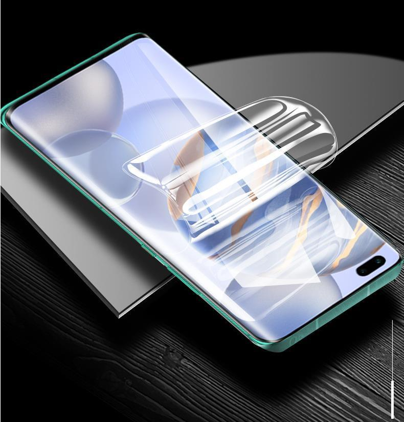 Soft TPU Screen Protector Hydrogel Film For Samsung Galaxy S21 S20 Plus Ultra S10 Note 20 S20FE S8 S9 Huawei P30 Pro p40