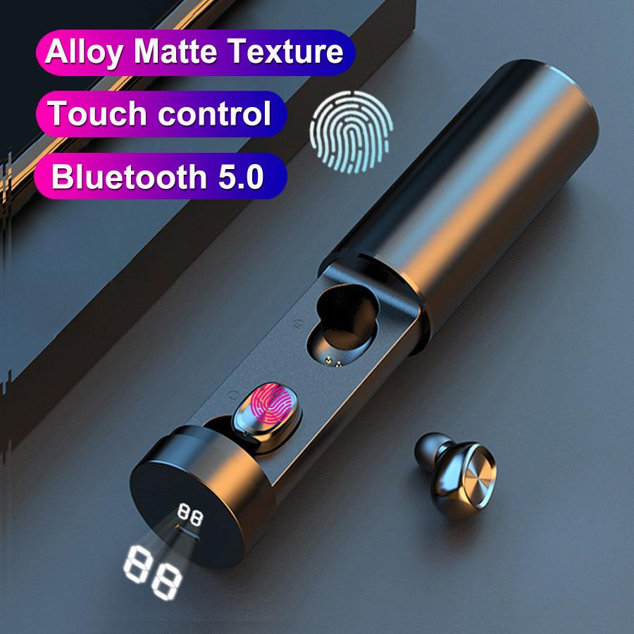 B9 TWS Auricolari Bluetooth Auricolari wireless 8D HiFi Sport con Mic Auricolari Gaming Musica Auricolare Cuffia per Xiaomi Huawei Smartphone