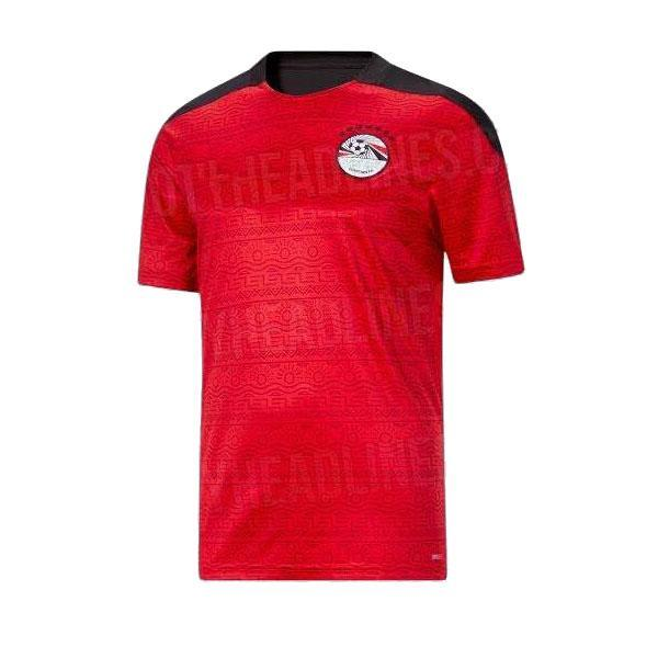 Top Thailand 품질 20 21 이집트 축구 유니폼 국립 대표팀 멀리 M.Salah 축구 탑 키트 Maillot 드 Foot Salah # 10 Camisetas de Futbol