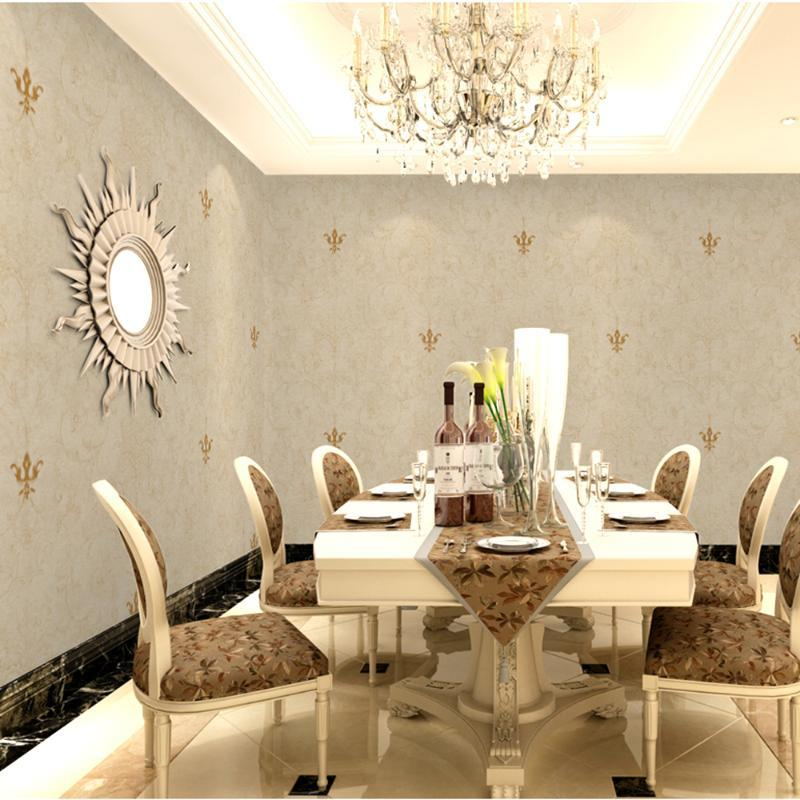 Wallpapers 10 anos de garantia 3D sem costura textile wallcovering tecido formaldehyde quarto de sala de estar sala de estar villa wallpaper