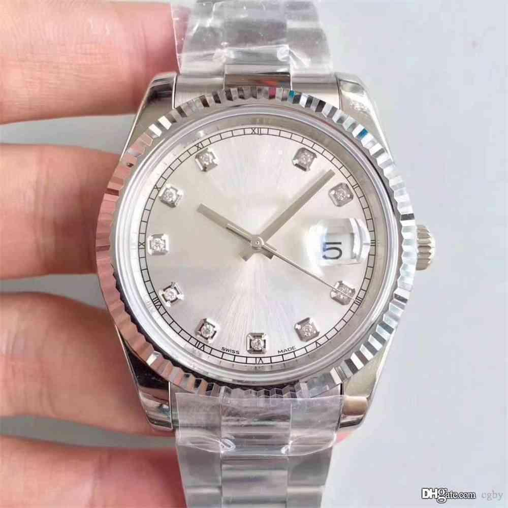 Top luxury men's mechanical watch,126333, 41 mm diameter,11.7 mm thickness, automatic date.Men's watch