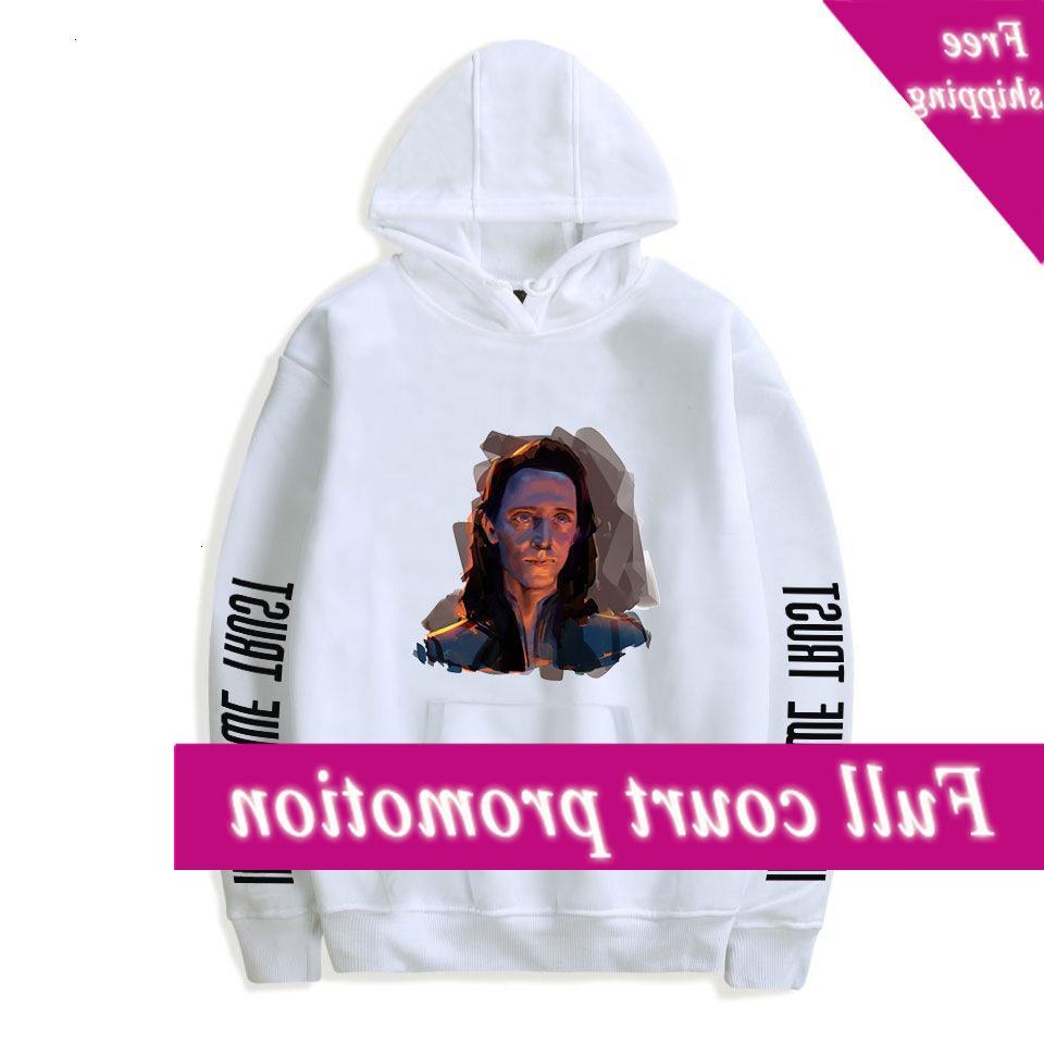 2021 Kapüşonlu Hoodie Uzun Mouw Erkekler / Kadınlar Kış Mode Rahat Hip Hop Kazak Loki Trui 3D Baskı Eğitim Paketi
