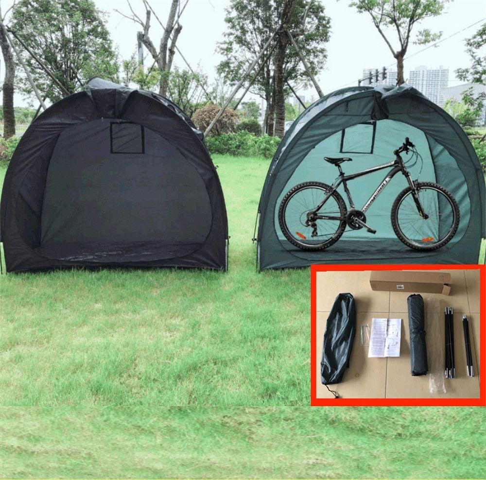 200 * 88 * 165 سنتيمتر ماء دراجة خيمة دراجة غطاء ملجأ مع تصميم نافذة ساحق كبير لدراجات المنزل حديقة، إصلاح، حمام السباحة، تخزين لعب الأطفال