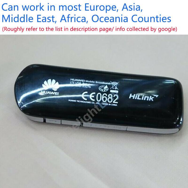 Unlocked Huawei 4G LTE E3276S-150 Modem FDD / TDD Router 150 Mbps HSDPA WCDMA USB 2G 3G Veri Kartı