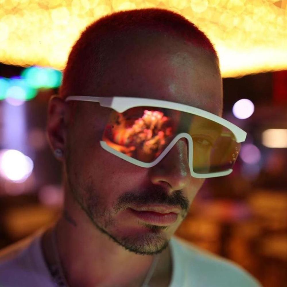 Óculos de sol chegada 2021 mulheres futuristas homens recquare shad para ftival superdimensionado masculino na moda