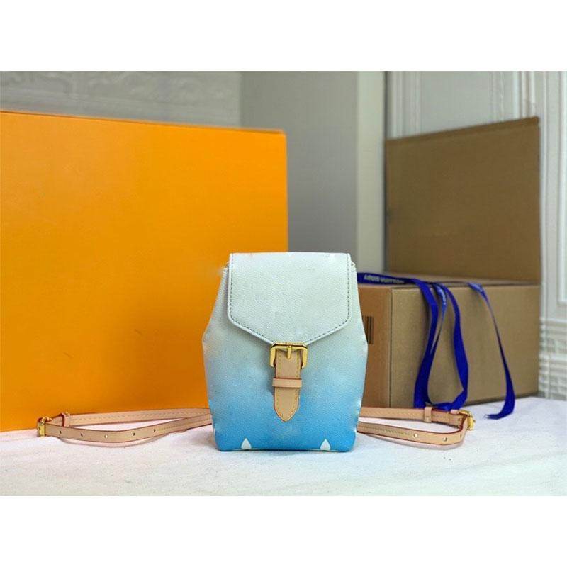 Sırt Çantası Stil Deri Cüzdan Moda İki Renkli Omuzlar Çantalar Güzel Kadın Çanta Zip Arka Cebi Kartları Mağaza Edilebilir Birçok çeşit