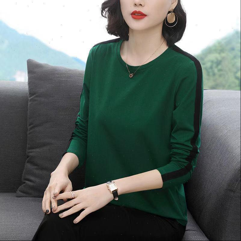 Women Shirts Spring Autumn Style Blouses Lady Casual Long Sleeve O Neck Patchwork Blusas Tops DD8237 Drop