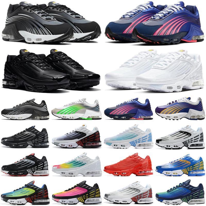 nike vapormax air airmax vapor max 2020 tn plus 3 men women running shoes triple white Black Iridescent Crimson Red Laser Blue Deep Royal mens trainers sports sneakers runners