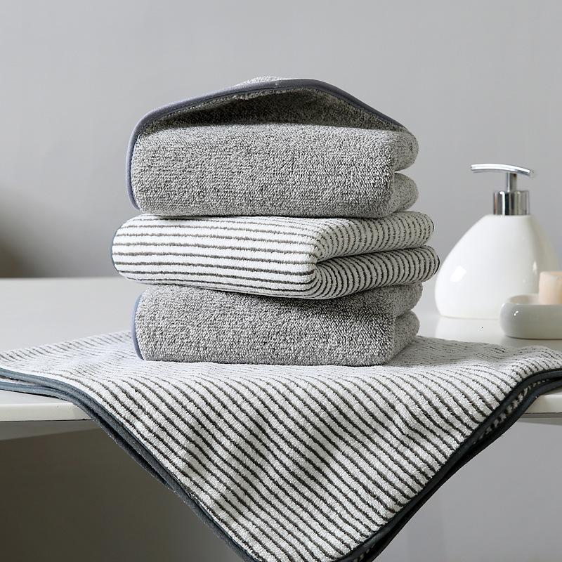 Bath Towel Bamboo Charcoal 35 * 75 High Density Coral Veet Absorbent Towel