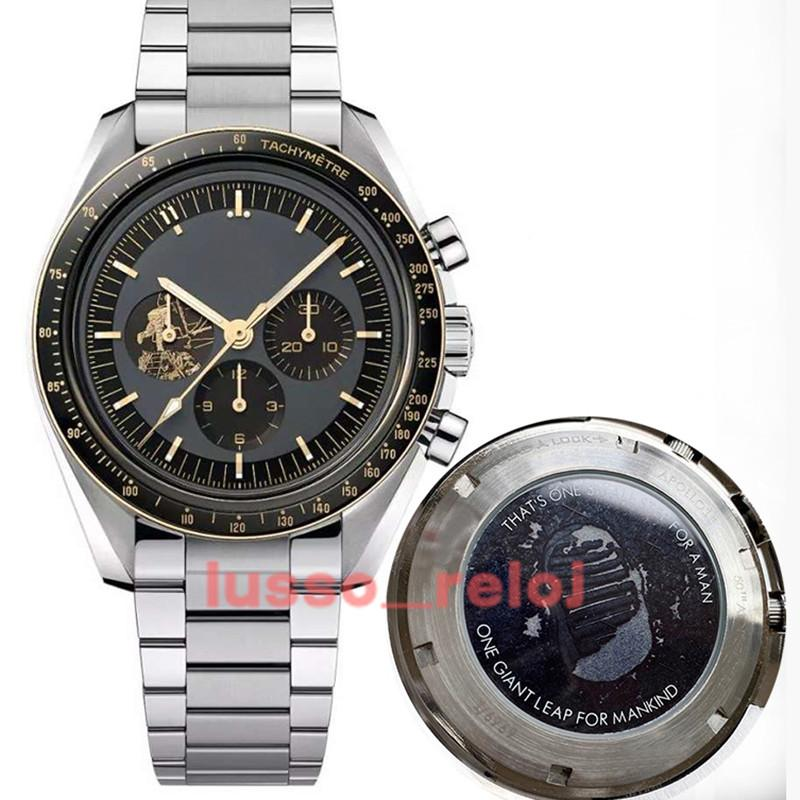 Yüksek Kaliteli Erkekler Erkek Dalgıç 50. Yıldönümü Otomatik Saatler Mekanik Paslanmaz Lüks İzle James Bond 007 Montre de Luxe Spea Sınırlı Sürüm Saatı