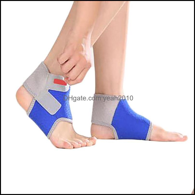 Ankle Safety Athletic Outdoor As Sports & Outdoorsankle Support Adjustable Foot Heel Er Protective Bandage Wrap Guard Protector Basketball S