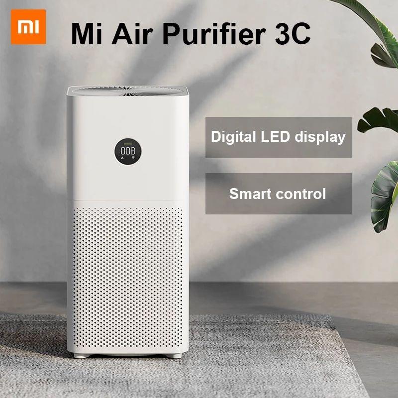 Xiaomi MI Purificatore Aria 3c Cleaner Automatico Casa Automatica Fresher Smoke Detector HEPA Filtro Mijia App Telecomando Telecomando PM2.5 Display