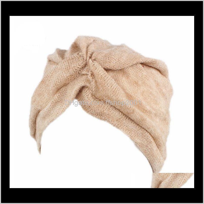 Bere / Kafatası Şapkalar, Atkılar Eldiven Moda Aessories Kadınlar Türban Şapkalar Dome Cap Kafa Wrap Saç Dökülmesi Kanser Headwrap Müslüman Kemoterapi Alop