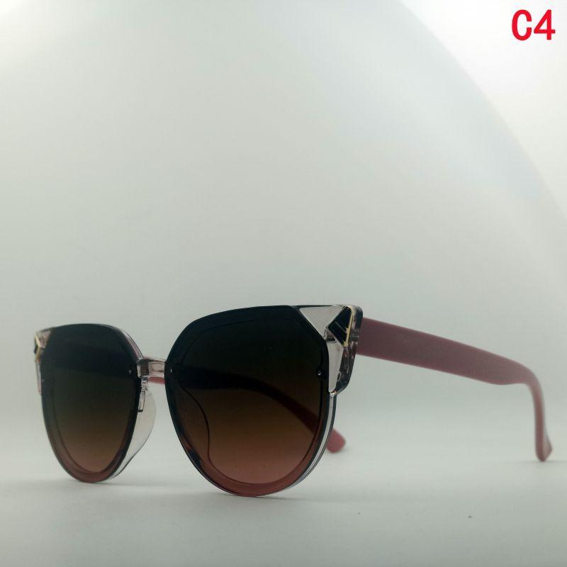Designer glasses gafas de sol de lujo fashion accessories sonnenbrille woman man cat eye adumbral frame trend cool europe and america
