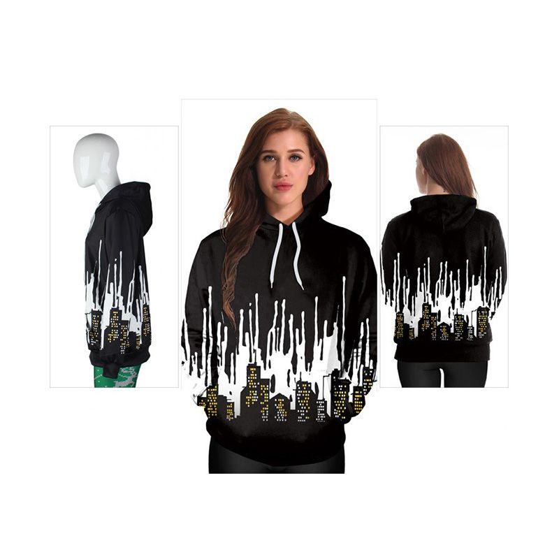 Women's Sweatshirts Sweater Casual Hoodies Comfortable Novelty Sportswear Men Hoodie Digital Printing Hooded Sweater 2021 Fall Winter