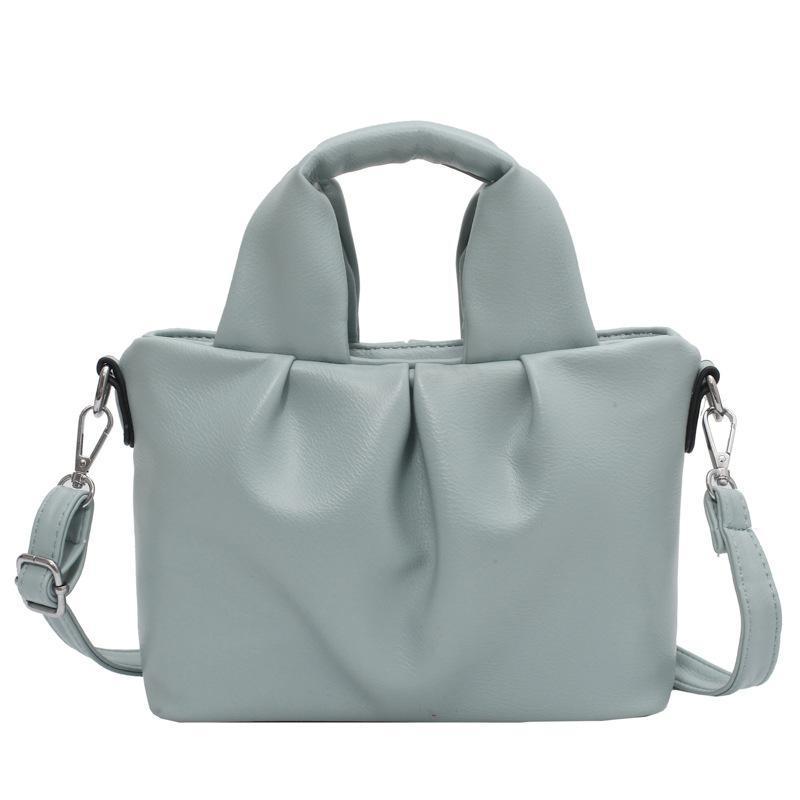 Trendy Mode Damen Western Stil Falten Messenger Bag Net Celebrity Niche Schulter High-End Retro Weiblicher Kreuzkörper