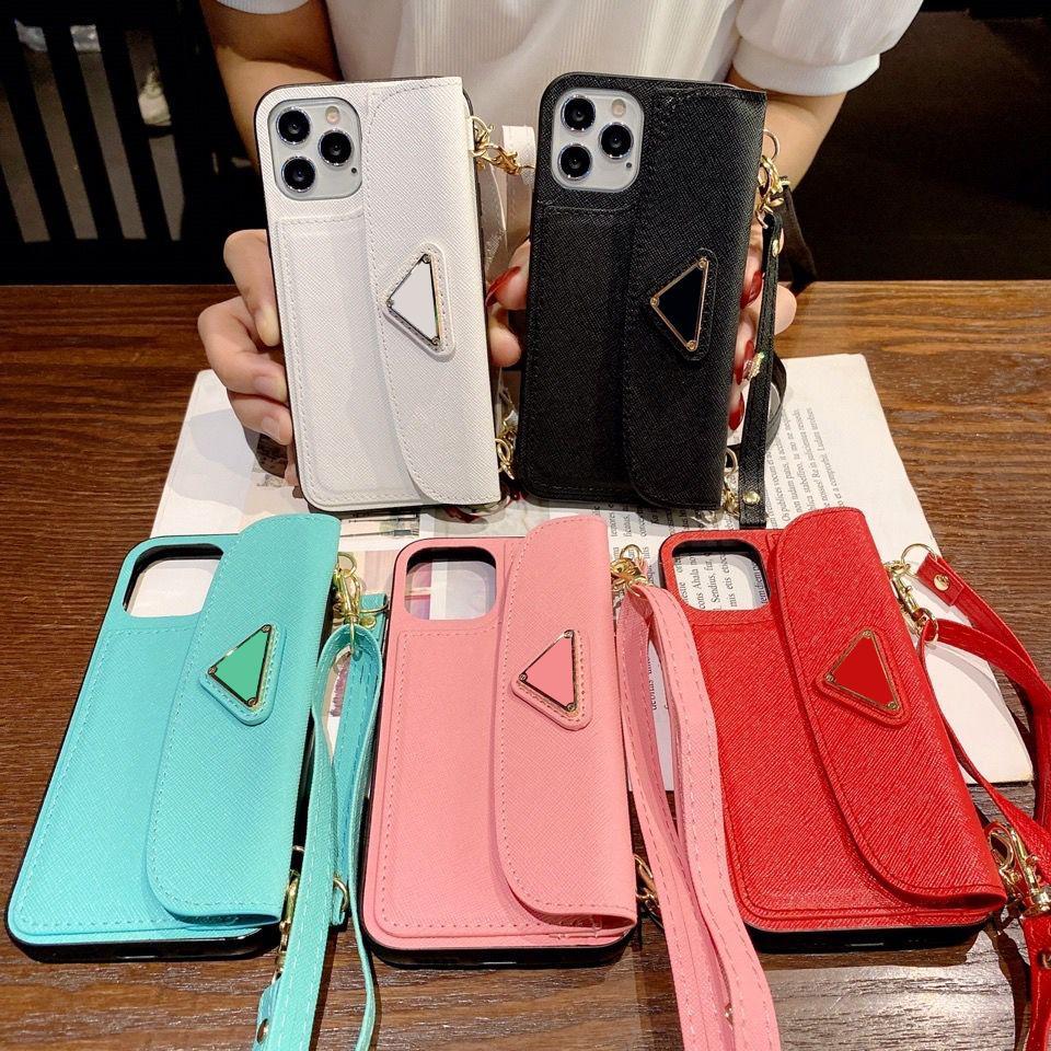 الفمهات المصممين النساء منحرف الحالات الهاتف الخليوي فون 7P 8P X XS XR XSMAX 11 11PRO 11PROMAX 12 12Pro 12Promax الأزياء حالة 5 ألوان