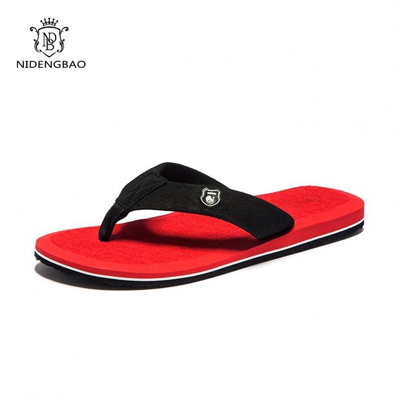 الرجال النعال أحذية الشاطئ مريحة الوجه يتخبط الرجال الصنادل الصيف أعلى جودة عارضة أحذية ذات نوعية جيدة أحذية كلاسيكية الرجال