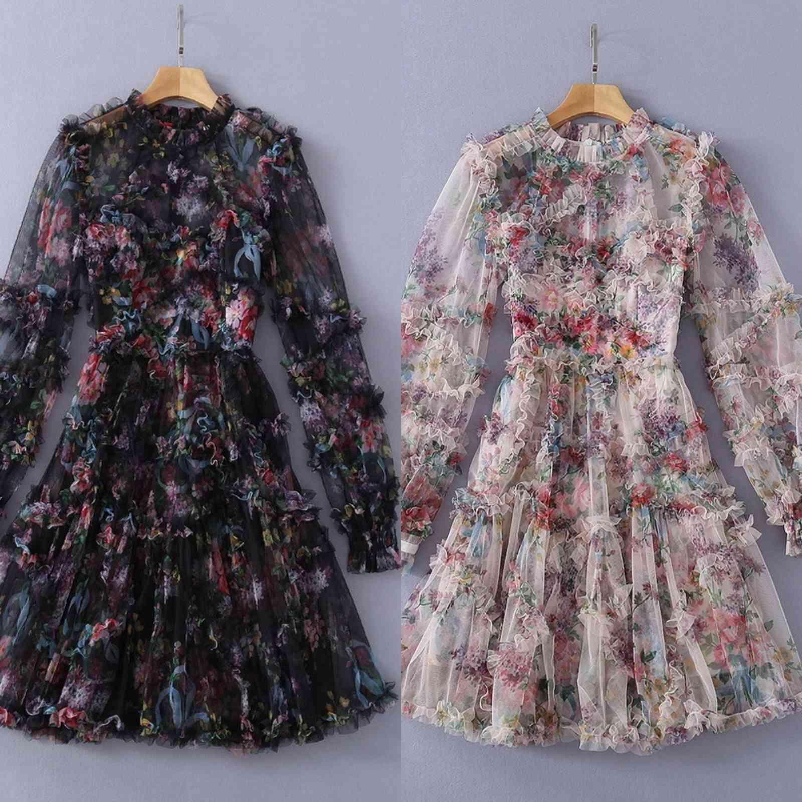 Pist kıyafetleri Avrupa ve Amerikan ünlüleri aynı ağır sanayi ahşap kulak dikiş baskılı örgü elbise NMW9