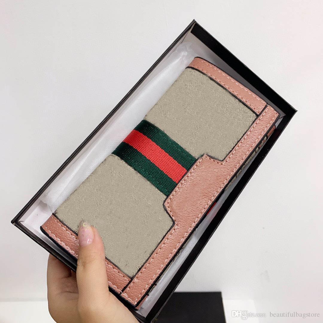 Porte-monnaie Pochette Pochette Multi Carte Position Multi Carte Toile en toile pour hommes et femmes à travers la décoration des lettres Portefeuilles cadeaux