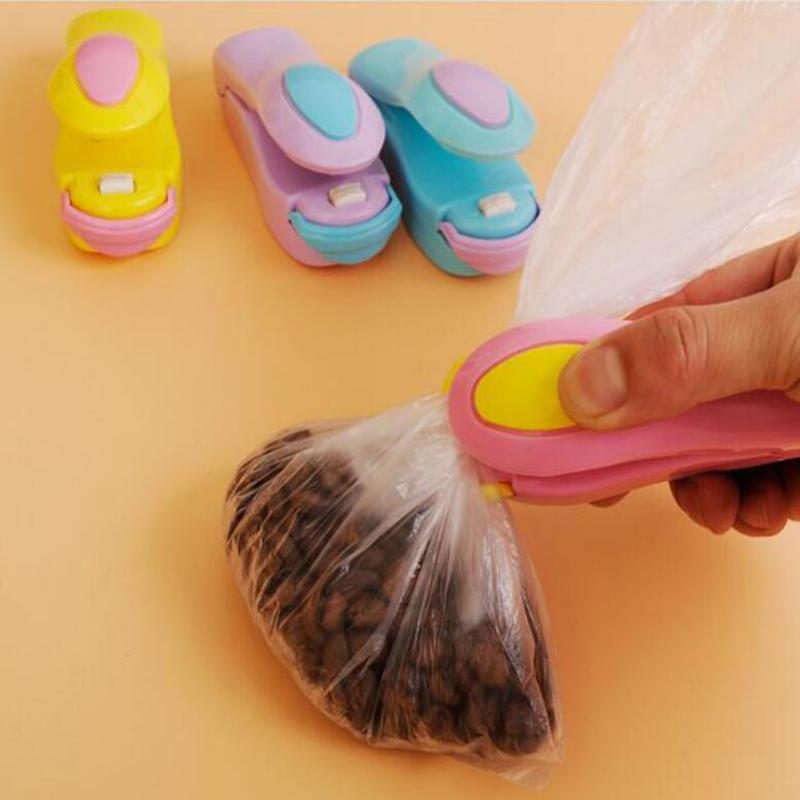 Portable Mini Heat Sealing Machine Household Impulse Sealer Seal Packing Plastic Bag Plastic Food Saver Storage Kitchen Tools