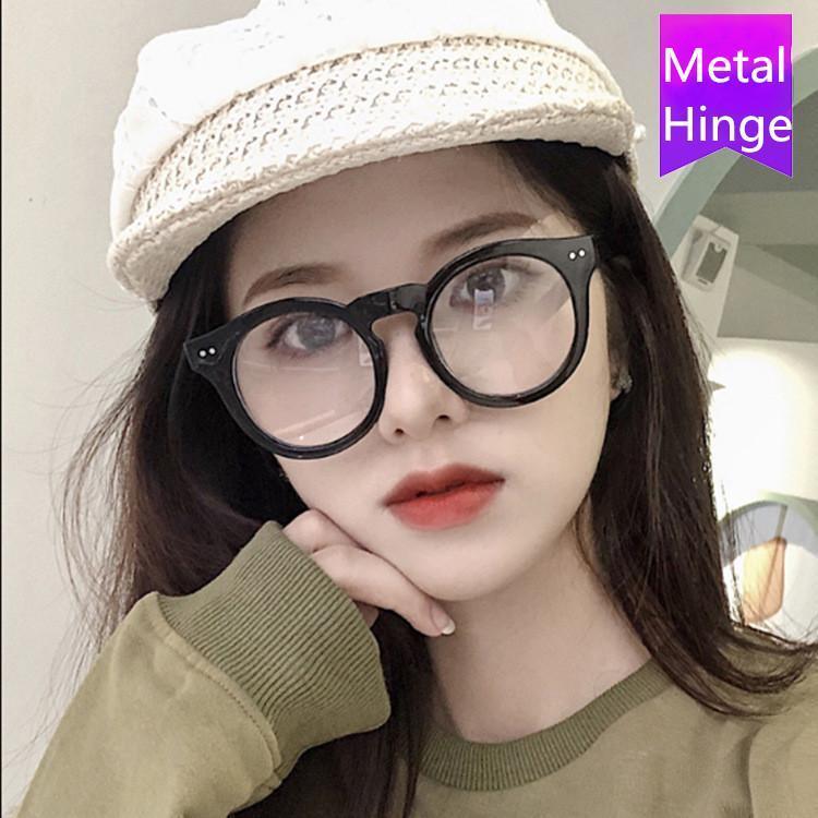 Moda Güneş Gözlüğü Çerçeveleri 2021 Vintage Retro Yuvarlak Gözlük Çerçeve Kadın Reçete Gözlük Erkekler Optik Göz Gözlük