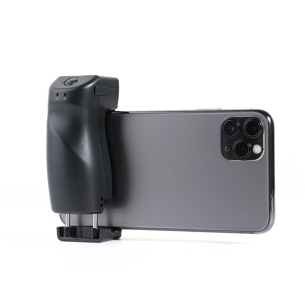 SesenPro Bluetooth Shutter GRIP MOBILE HANGE Selfie Monopod 2500mAh Cámara de teléfono inteligente Control remoto, compatible con iPhone, Android