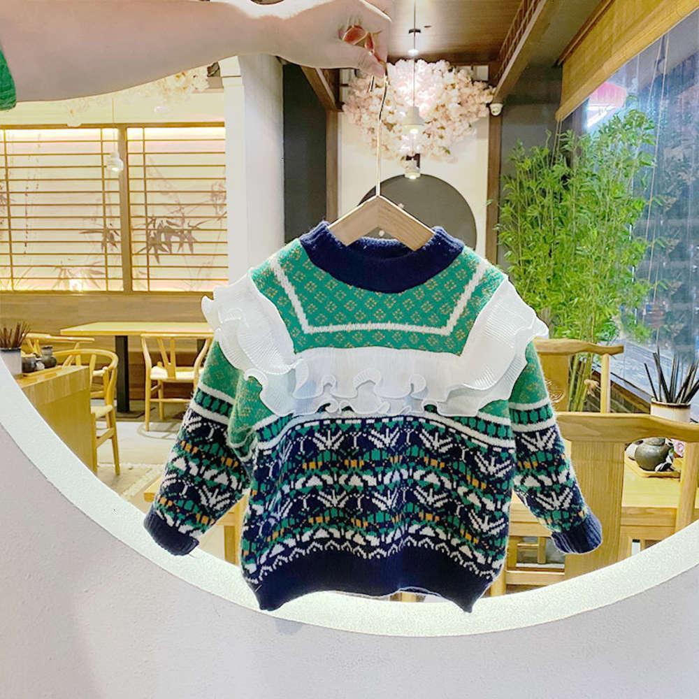 2020 зимняя одежда средняя маленькая детская девочек иностранные рычалки корейские домы и цвет Auriculia auricula