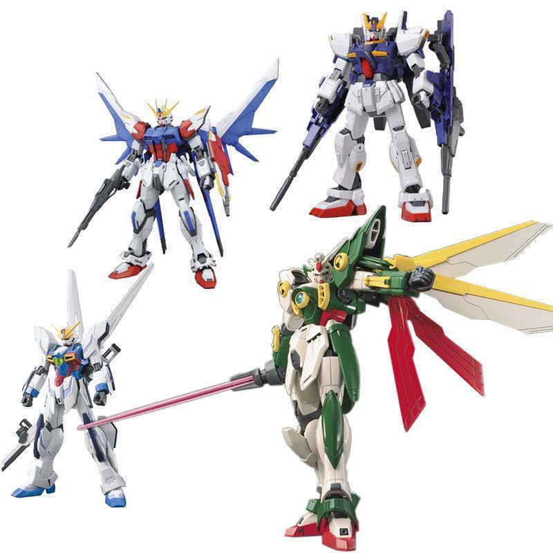 Anime Daban 13cm Hg 1/144 Wing Gundam Fenice XXXG-01WF Modell Hot Kids Spielzeug Action Figuras Montiert Phoenix Roboter Puzzle Geschenk