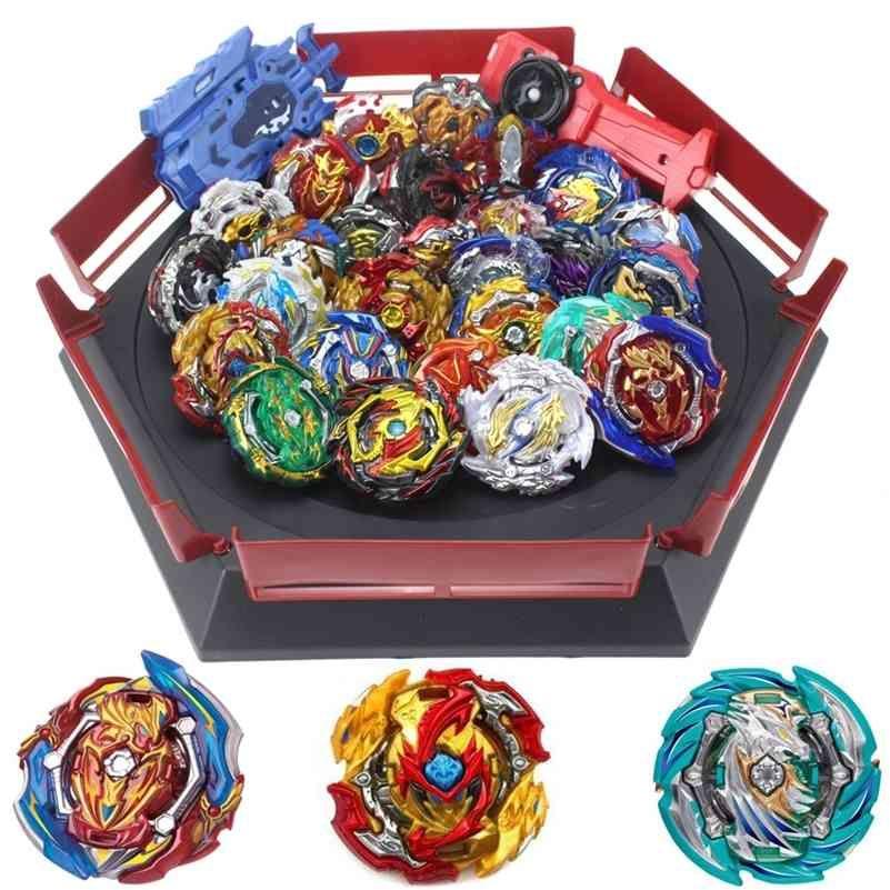 Beyblade 버스트 세트 장난감 Beyblades Arena Bayblade 금속 퓨전 4D 런처 회전 탑 Bey 블레이드 블레이드 장난감 크리스마스 선물 201217