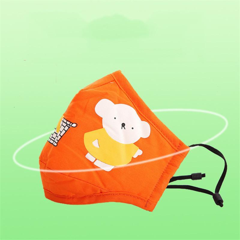 PM2.5 Kinder Anti-Umwelt-Umwelt-Jungen Mädchen-Cartoon-Mund-Gesichtsmasken Kinder-Anti-Staub atmungsaktive Ohne Waschbare, wiederverwendbare Baumwollmaske