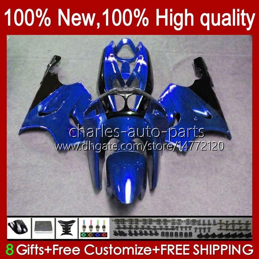 Karosseriekörper für Kawasaki Ninja ZX-750 ZX7R ZX750 ZX 7 R 96 97 98 99 2000 2001 2002 2003 28hc.101 Fabrik blau Alle ZX 7R ZX 750 ZX-7R 1996 1997 1998 1999 00 01 02 03 OEM-Verkleidung