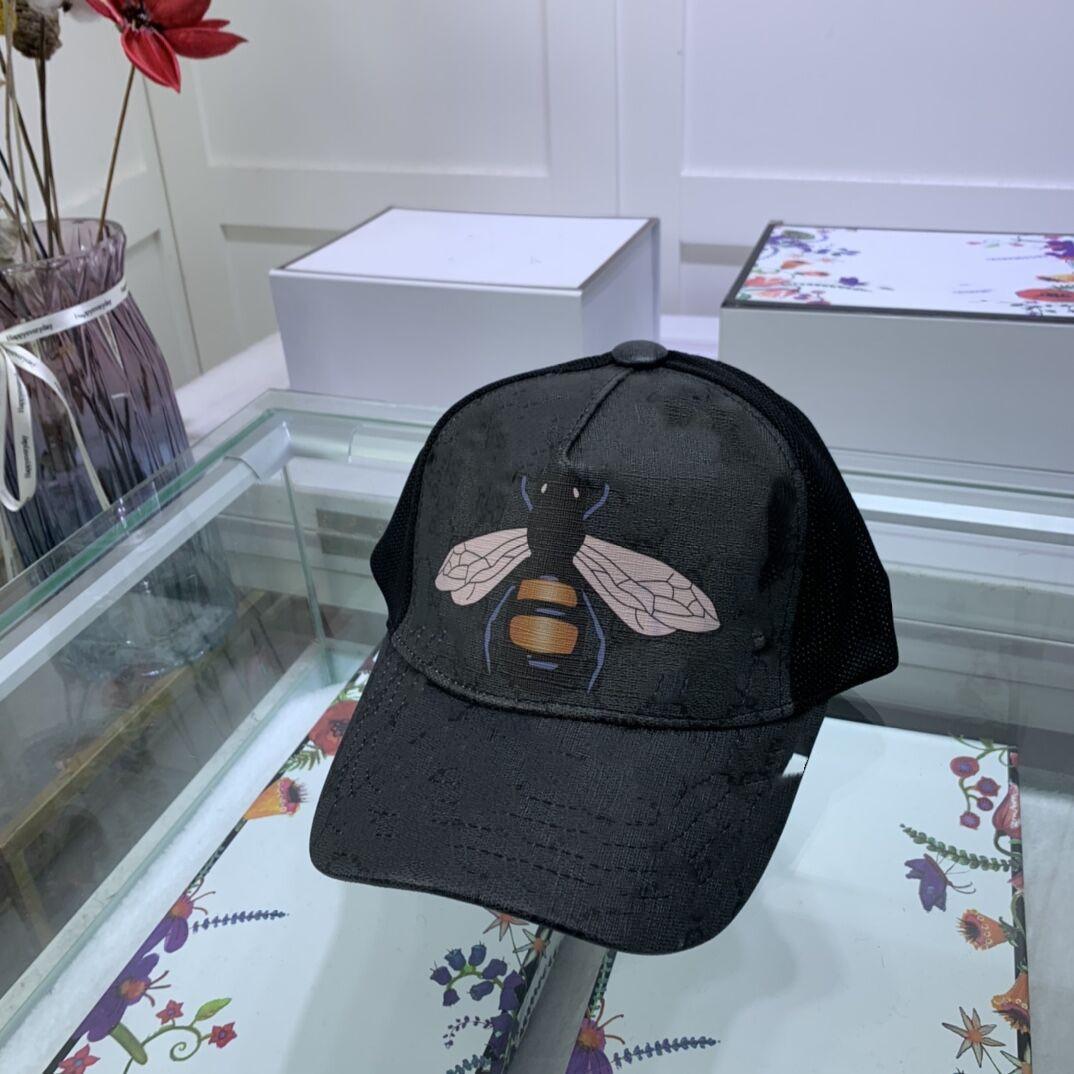 2021 Design Moda All-Match Men's e Mulheres Bonés de Beisebol Verão Padrão Animal De Malha Sun Hat