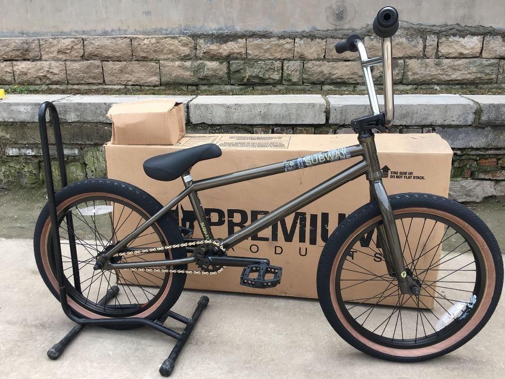 Premium Subway Bmx Bikes 20' Full Crmo Bearings Goldnbrown