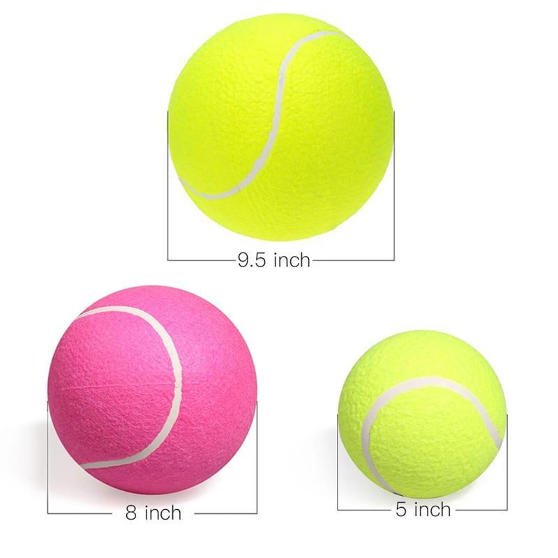 9.5 بوصة كبيرة العملاقة كلب جرو الملعب التنس الكرة 24 سنتيمتر jurower شاكير قاذفة اللعب لعبة مضغ اللعب