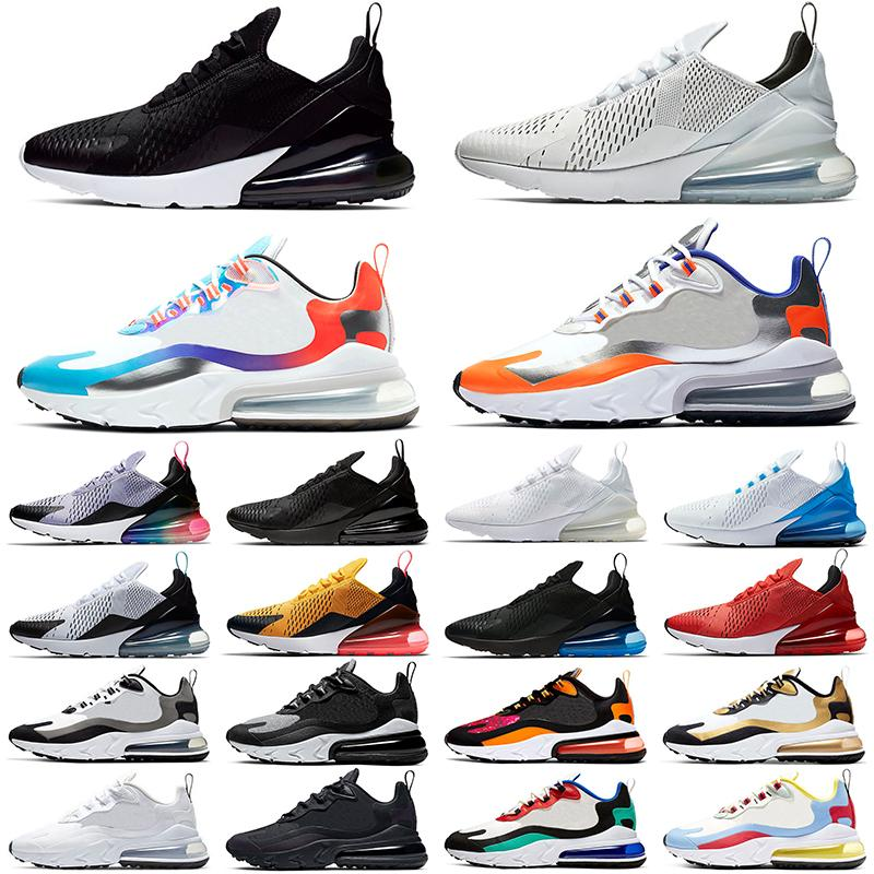 React Running Shoes Men Women Sneakers Triple Black White Oreo Photo Blue Bauhaus Optical Mens Womens Trainers Size 36-45