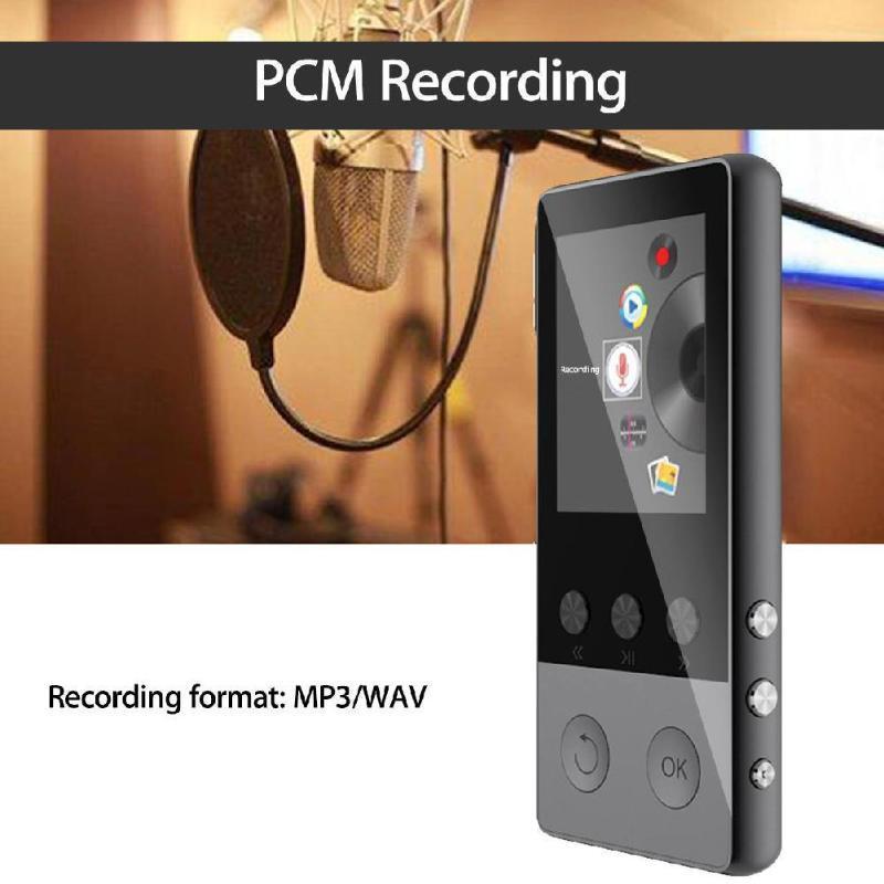 Построен в 8 ГБ Bluetooth Hifi MP3-плеер 1.8-дюймовый экран портативный динамик радио FM-запись Walkman A5 Girl Friend Girl MP4 игроки