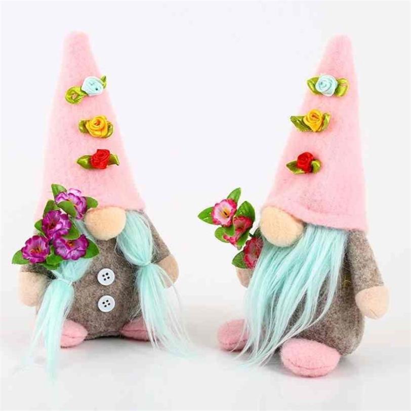 2021 giorno della mamma Bella bambola senza volto bambola di Pasqua coniglio GNOME GNOME GNOME PASQUA POSTERIATO NANO PARTIERA PARTY PARTY PACKOP ornamenti decorazione G393ZR0