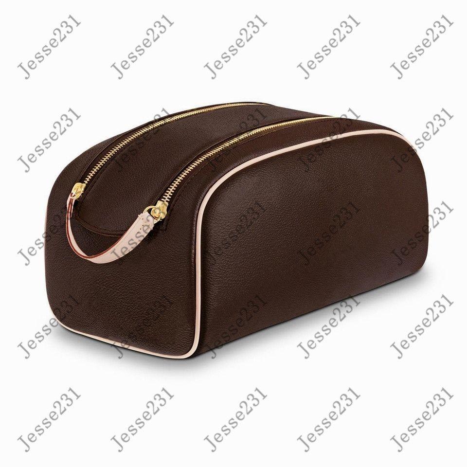 Hohe Qualität Männer und Frauen Reisen Große Kapazität Waschbeutel Kosmetische Toilettenbeutel Beauty Makeup Case Pochette Doppel Zippy Kits