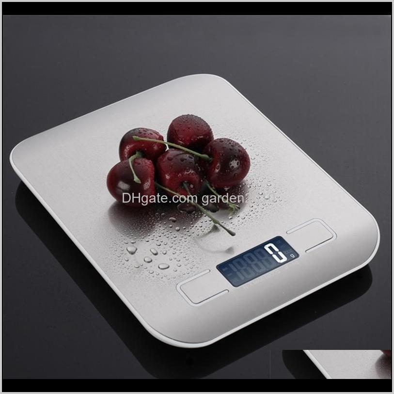 Tools Household Kitchen 5Kg10Kg 1G Food Diet Postal Scales Balance Measuring Tool Slim Lcd Digital Electronic Weighing Scale 201211 Bi Fj42T