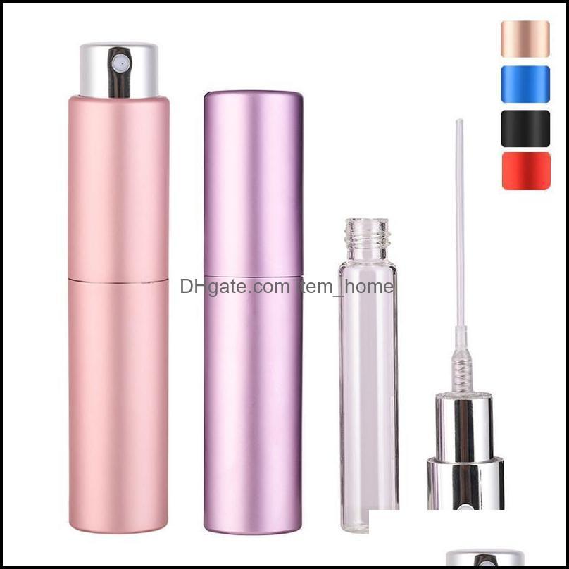 Organisation housee Home Gardonnière Mini Mini rechargeable par bouteille pour Voyage Cosmétiques Conteneurs de pulvérisation avec pompe de parfum vide Stockage Bott