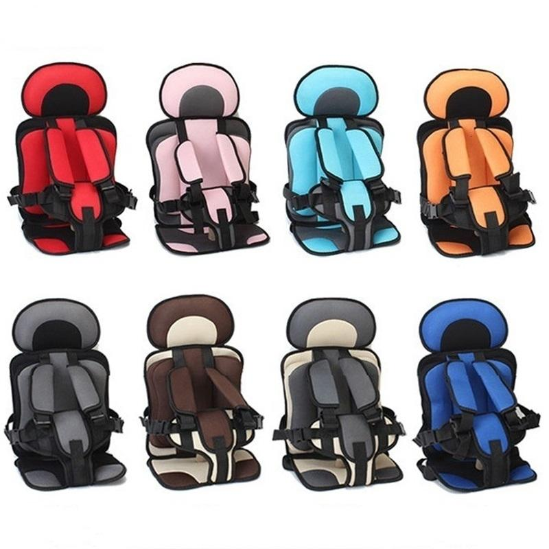 Children Chairs Cushion Baby Safe Car Seat Portable Updated Version Thickening Sponge Kids 5 Point Safety Harness Vehicle Seats1 270 Z2