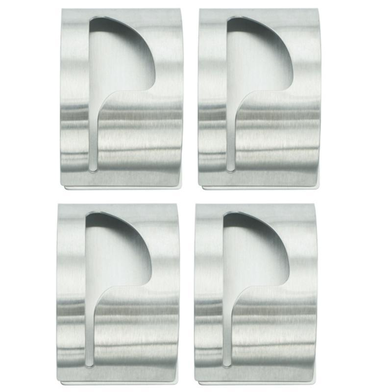 قوية ذاتية اللصق منشفة حامل رف الفولاذ المقاوم للصدأ معطف هوك إكسسوارات الحمام إرونوبان، رفوف 4PCS
