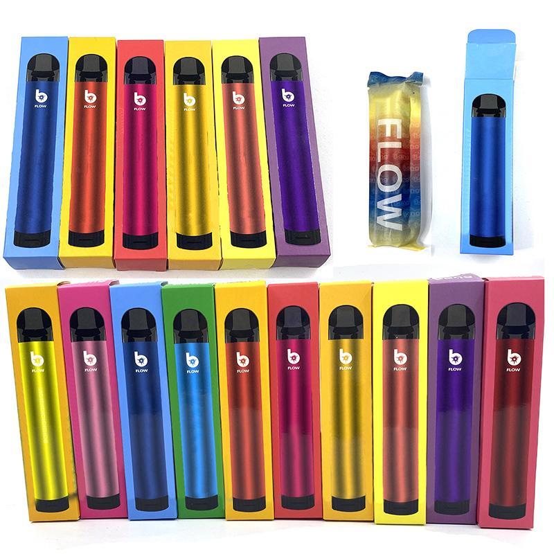 Bang Akış Tek Kullanımlık E-Sigaralar Kiti 2000Puffs 850 mAh Pil 6 ml Kapasiteli Pod Ön Dolgulu Buharlar Cihazı Vape Kalem