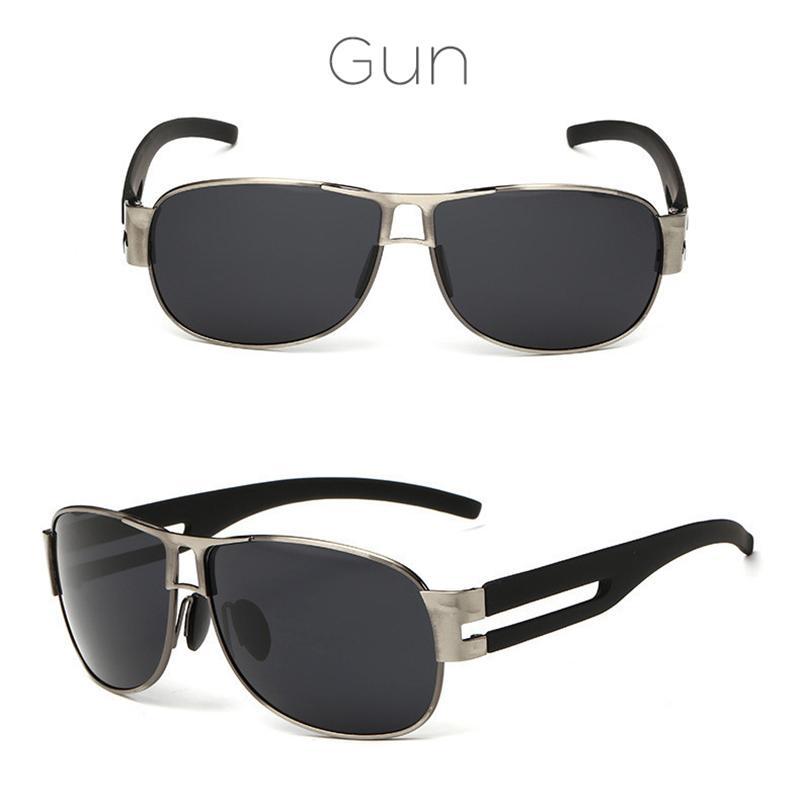 Moda polarizada para hombre gafas de sol deportivas al aire libre gafas de sol de lujo de lujo gafas de sol para hombres clásicos de conducción de gafas UV400