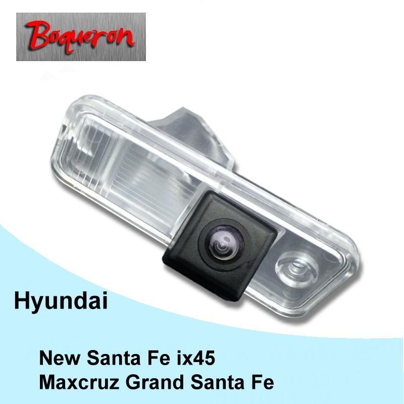 Câmeras traseiras do carro Sensores de estacionamento para MaxCruz Grand Santa Fé IX45 Reverse Backup Camera HD CCD Night Vision