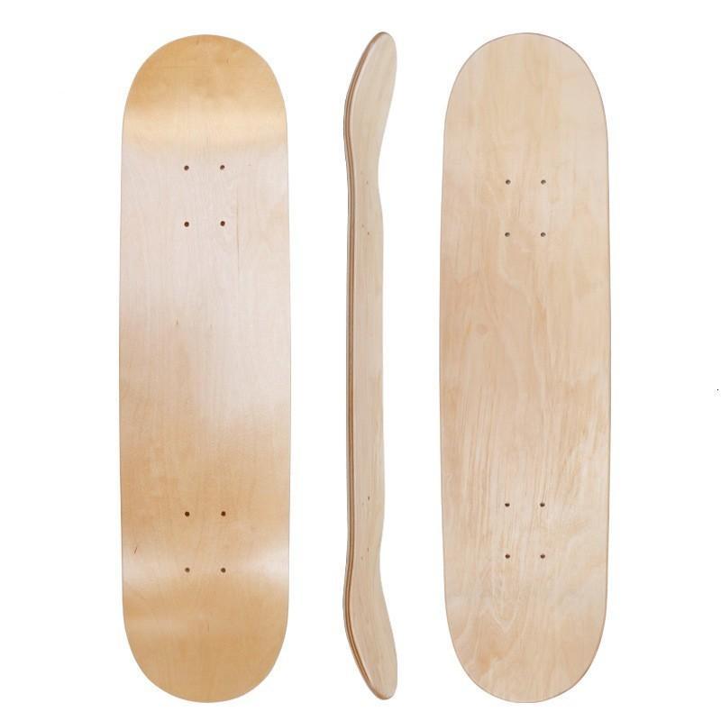 Прибытие DIY Skateboard 31 * 8-дюймовый пустой скейтборд палуба Skate Skate Worddouble вогнутые рубленые палубы Deskorolka часть SC157 30 Z2