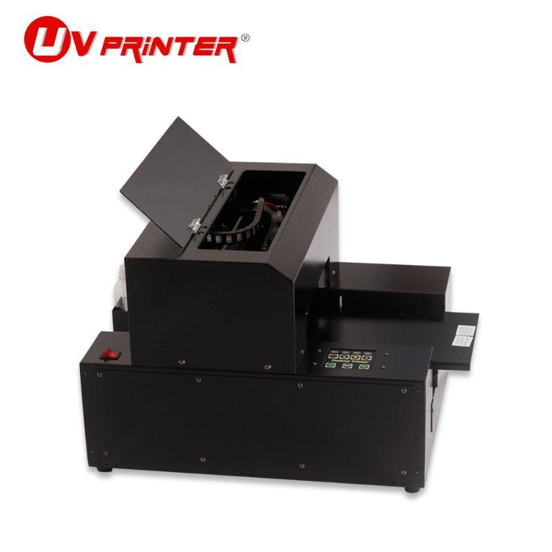 Impressora de mesa de tinta A4 Plataforma de impressão DIY Processamento personalizado para o caso do telefone móvel Impressoras de cartão